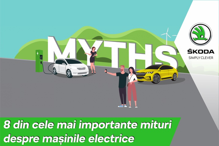 8 din cele mai importante mituri despre masinile electrice
