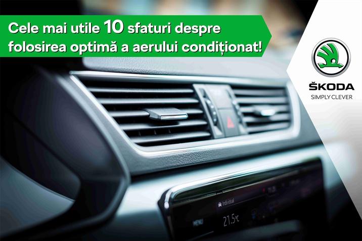 Sfaturi privind utilizarea aerului condiționat