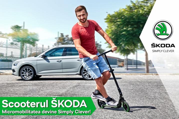 scooter SKODA