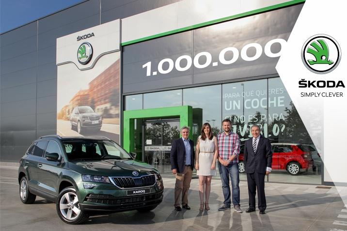 SUV-ul SKODA 1 milion