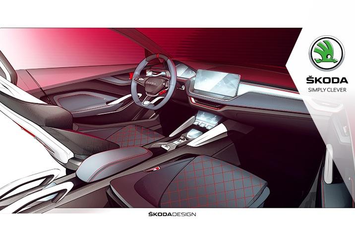 Vision RS interior