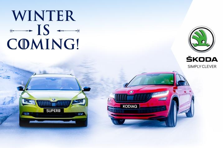 Winter is Coming SKODA