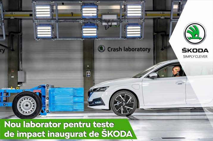 Noul laborator pentru teste de impact SKODA