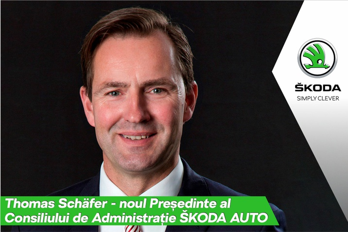 Thomas Schafer - noul Presedinte al Consiliului de Administratie SKODA AUTO