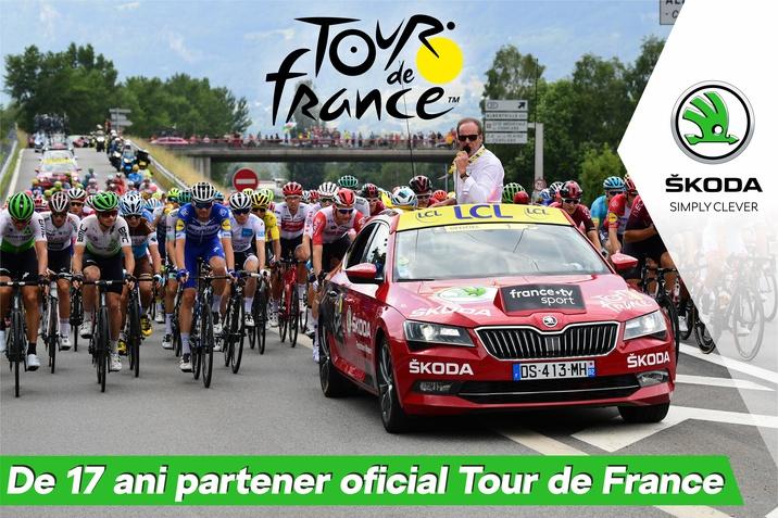 Skoda Auto, Tour de France 2020