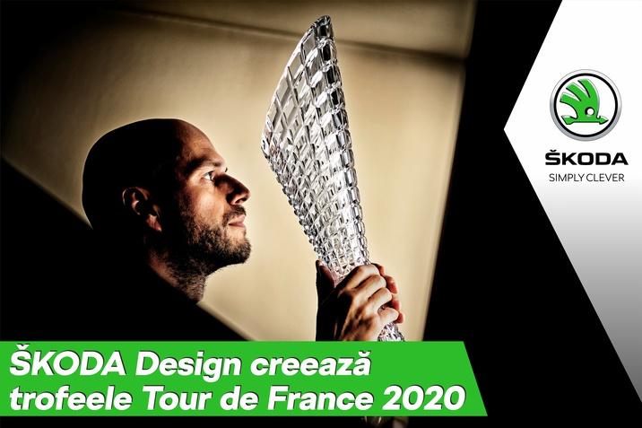 SKODA Design creeaza si in acest an trofeele Tour de France