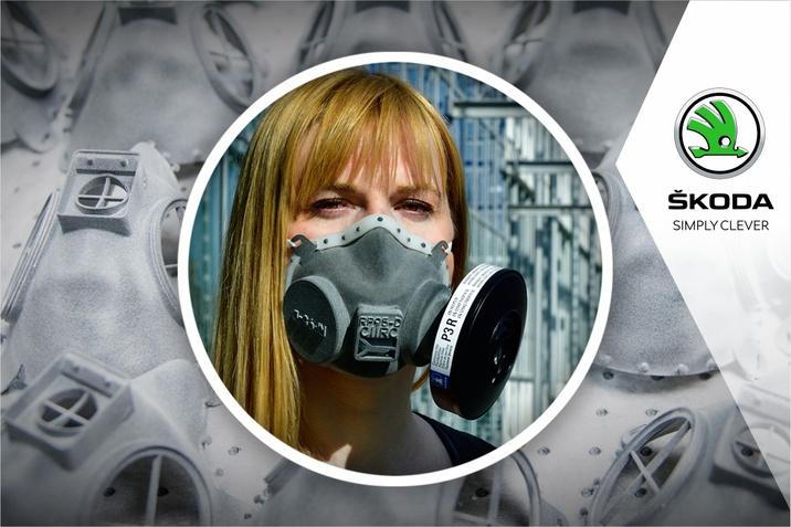 Skoda produce masti respiratoare