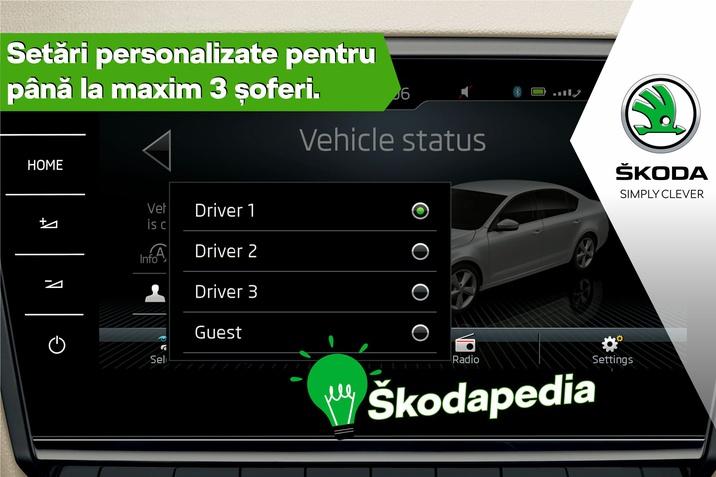 Skodapedia - Setari personalizate