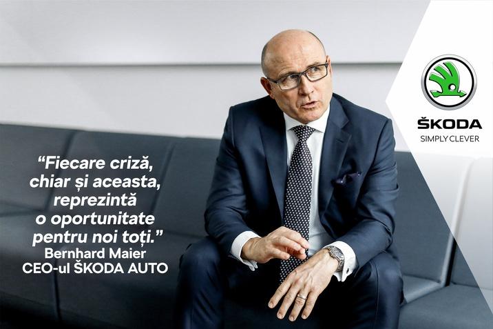 Interviu Bernhard Maier - CEO SKODA AUTO